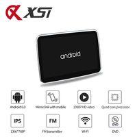 Vidéo de voiture xST 10.1 pouce Android 6.0 Système Headrest Moniteur Lecteur DVD HD 1080P Écran tactile avec wifi / HDMI / USB / SD / SD / BLUETOOTH / FM