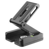 Z Tipi Katlanabilir Masaüstü Standı Tutucu Tripod Flex Kült ile Top Başkanı Uyumlu Slayt Ray Kamera Kamera Tripod 1/4i ile