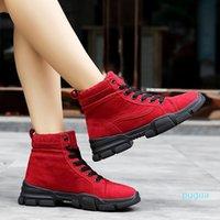 Moiipheng сапоги женщины 2021 зима ботас муджера инверирно лодыжки сапоги теплые плюшевые женские туфли искусные замши тонкие сапоги сексуальные