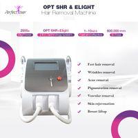 Çok İşlevli Elight IPL Opt SHR Lazer Kalıcı Epilasyon Cilt Bakımı Anti Aging Kırışıklık Akne Vasküler Pigmentasyon Terapi Makinesi CE FDA Onaylandı