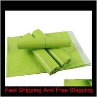 14 * 22 cm Grün Bunte Kurier Umschlag Versandtasche Mail Tasche Wasserdichte Kunststoff Poly Postal Versand Versand Taschen S4MPW PABQE