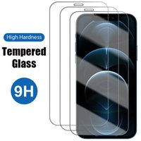 Top Screen Protectors For iPhone 7 8 6 Plus XR XS 11 12 Mini Pro Max 9H Tempered Glass Protective Film