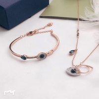 Anello per collana per occhio sterling sterling sterling s925 per orecchini da donna versatili bracciale