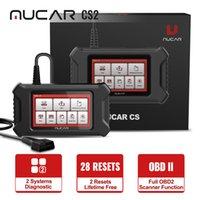 ThinkCar Mucar CS2 أدوات تشخيص السيارات سيارة مجانية النفط الحرة EPB ABS SRS WIFI Bluetooth Android OBD2 الماسح الضوئي للمبرمج التلقائي