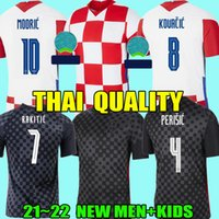 2021 Top Thailand Soccer Jerseys كرواتي 20 21 CROAZIA MODRIC PERISIC RAKITIC MANDZUKIC KOVACIC CHEMPAN