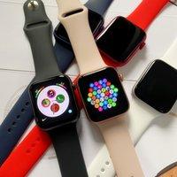 أعلى جودة 44mm ساعة ساعة 6 iwatch 6 IWO13 ساعة ذكية ساعة الرياضة مع شحن لاسلكي مع مربع التعبئة والتغليف