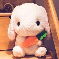 43см милый фаршированный кролик плюшевые игрушки мягкие игрушки подушка кролика детская подушка кукла подарки дня рождения для детей ребенка сопровождают игрушку сна 210929