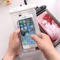Прозрачный водонепроницаемый сухой чехол для чехол из ПВХ защитный мобильный телефон сумка для плавания Сенсорный экран с плавающим воздушным мобильным телефоном для дайвинга HH264OVL