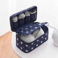 Seyahat İç Çamaşırı Bavul Taşınabilir Giyim Çorap Paketleme Çantası Sütyen Saklama Kutusu