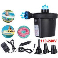12V Multi-function Electric Air Pump Portable Air Mattress Pump Inflator Deflator For Inflatables For Mattress Swimming laps
