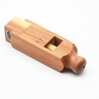 FactoryDukmfilter mais novo Nice mini Natural de madeira portátil Tubo de fumo seco Herb Tobacco Bowl Innovative Design Handpipe