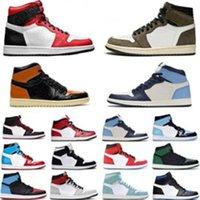 متعدد الألوان 1s ترافيس أحذية كرة السلة الرياضة افرمة 1 سكوتس الأخضر الصنوبر شيكاغو رمادي سبج og أعلى 3 وصول ليكرز الشراع المرأة