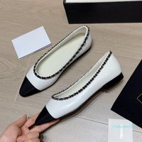 2021 Wholesales 샌들 체인 테이퍼 싱글 톤 신발 여성 패션 캐주얼 작업, 여름