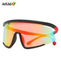 Lunettes de soleil Jackjad 2021 Mode Cool Surdimensionné Masque Surdimensionné Sports Sports Sports Couperils Design Sun Lunettes Sun 2075