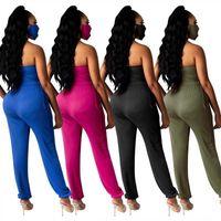 0Q1CN x3661 새로운 섹시한 바지 바지 바지 팬티 스타일 여성들과 DrawStringinCluding 마스크 x3661 새로운 섹시한 바디 바지 Jumpsuit Pantsstyle Women 's Jumps