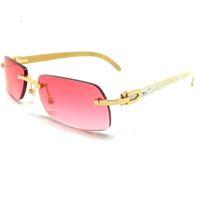 Ienbel Black Friday Buffalo Horn Luxe Pas de lunettes de soleil en bois, Sunglasses de Hernie Null 21s