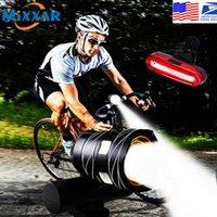 دروبشينغ الجدة الإضاءة قابلة للشحن دراجة ضوء سوبر مشرق أضواء ركوب الدراجات الضوء الخلفي الوضع يلائم كل الدراجات