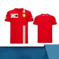 F1 Racing Apparel Racing Team T-shirt a maniche corte T-shirt a maniche corte in poliestere Asciugatura rapida Personalizzabile Personalizzabile Vestito da corsa in downhill Short-sle