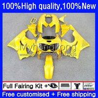 Bodys Kit For HONDA CBR 893RR 900RR 893 900 CC 89 90 91 92 93 Light yellow Bodywork 36No.109 CBR900RR CBR893RR 1989 1990 1991 1992 1993 CBR900 CBR893 RR 89-93 OEM Fairing
