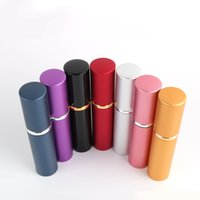 DHL 5ML perfume bottle Aluminium Anodized Compact Aftershave Atomiser Atomizer fragrance glass scent-bottle Mixed color