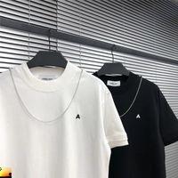 2020 Ambush T-Shirt Nakış Mektubu Küçük Logo Zincir Drop Shipping ile Küçük Logo Abus T Gömlek