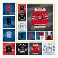 Hombres juveniles 29 Marc-Andre Fleury Concept Chicago Blackhawks Hockey Jersey4 Seth Jones19 Jonathan Toews 88 Patrick Kane 00 Clark Griswold 8 Dominik Kubalik Jerseys