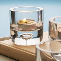 Kerzenhalter Kristall Luxus Wachs Glas Gläser Kerzenständer Für Weihnachten Hochzeit Geburtstag Kerzenlicht Abendessen Wohnkultur