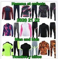 Top Man Tracksuit Jerseys Tracksuit Mens Designer Correstsuits 2020 2021 Futebol Tracksuit Futebol Training Suit