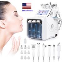Lager i USA Ny produkt Oxygen H2O2 Små bubbla Skönhetsenhet Djup Clean Hydra Dermabrasion Skin Föryngring Facial Machine