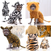 1pcs animale cosplay vestiti per cani flanella inverno caldo carino animale domestico vestiti per cani abbigliamento 4 style xd24541