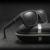 النظارات الشمسية للجنسين مربع خمر نظارات الشمس العلامة التجارية الشهيرة الشمسية النظارات الشمسية الاستقطاب oculos feminino للنساء الرجال