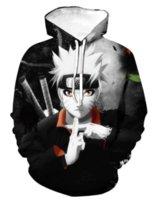 Naruto Yedi Ejderha Topu Fotoğraf Gevşek Erkekler 3D Baskı Kapak Vizyon Özel Yuvarlak Yüksek Kaliteli Amerikan Kazak Gevşek Xilie