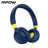 MOPOW CHE1 PROキッズヘッドフォン3.5mmの有線ヘッドセットマイコン85 / 94dbのボリューム制限ヘッドフォンオンラインコースのための女の子のためのヘッドフォン