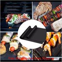 Толстые барбекю гриль коврик 33 * 40 см. Многоразовый многоразовый гриль для гриля BBQ Grill Mats Grill Foil BBQ Lister Cook JllXSW Warmslove
