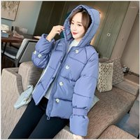 Bayan Parka Rahat Dış Giyim Sonbahar Kapüşonlu Ceket Kış Ceket Kadın Kalın Öğrenci Ekmek Mont Kadın Ceketler 3991