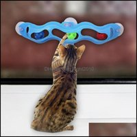 Cat Supplies Home & Gardencat Toys Funny Pet Kitten Window Suction Cup Track Ball Playing Interactive Drop Delivery 2021 Qkl5G