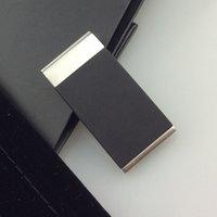 316L acier inoxydable polissage brillant silicone plate clips d'argent de qualité supérieure clip d'argent pour hommes et femmes ne disparaissant ni changez de couleur