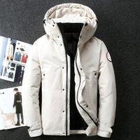 Winter Outdoor Leisure sports Designer down jacket white duck windbreak Mens Parkas Jackets Collar hat keep warm fashion classic adventure coat M-XXXL