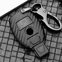 Scrub ABS car key protect case cover For Mercedes Benz BGA AMG W203 W210 W211 W124 W202 W204 W205 W212 W176 E Class W213 S class
