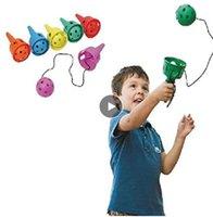 Fun Ball and Cup Set Kinderen Outdoor Throw Catch Game Softball Kendama voor Beginner Kids Motor Skills Toy