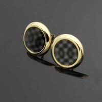 2021 Pendientes de aceite de gota de diseño clásico de alto pulido de alto tamaño pequeño Rosa negra Pendientes de acero inoxidable para mujer Joyería al por mayor