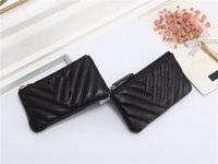 Chave bolsa de bolsa de bolsa de bolsa carteira carteira carteira desenhador de moeda bolsa bolsa cartão titular batom saco com caixa dustbag de alta qualidade de alta qualidade lambskin