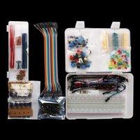 Компьютерные кабели разъемами электроники Компонент SUPER стартовый комплект с помощью макета модуль питания потенциометра перемычки проволоки светодиодов Resis