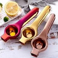 Práctico manual de limón exprimidor de acero inoxidable prensa de mano naranja fruta juicer hogar mini limón clip herramientas de cocina OWD5027