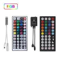 44KEYS IR 원격 제어 LED 컨트롤러 무선 조광기 액세서리로 RGB 2835 용 음악 동기화 LED 스트립 컨트롤러