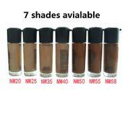 Makyaj yüz vakfı sıvı 35 ml yüksek kaliteli yüzlü kapatıcı vurgulayıcı maç NW renkleri