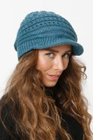 Berets 2021 Fashion Winter Women Fur Beret Hat Elegant Ladies Solid Flat Cap Thicken Warm Earmuffs Knitted Wool Beanie