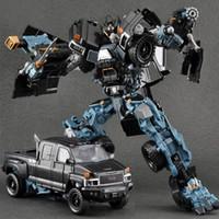 Wei jiang nuova trasformazione anime azione figure film boy ss cool robot car serbatoio auto dinosauro modello bambini bambini giocattoli regali