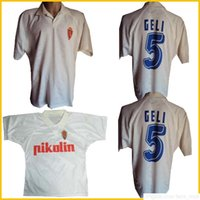 1994 1995 Real Zaragoza Retro Fussball Jersey 94 95 Camisetas de Fútbol Poyet Pardeza Nayim Higuera Vintage Chemise de Football Classique