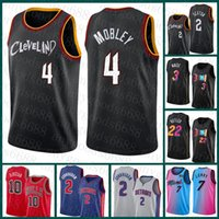 """2021 Nuovo Evan 4 Mobley Cleveland """"Cavaliers"""" Mens Basket Ballsy Jersey Collin 2 Sexton Demon 10 Derozan Kyle 7 Lowry Cade 2 Cunningham Russell 0 Westbrook Red multi"""